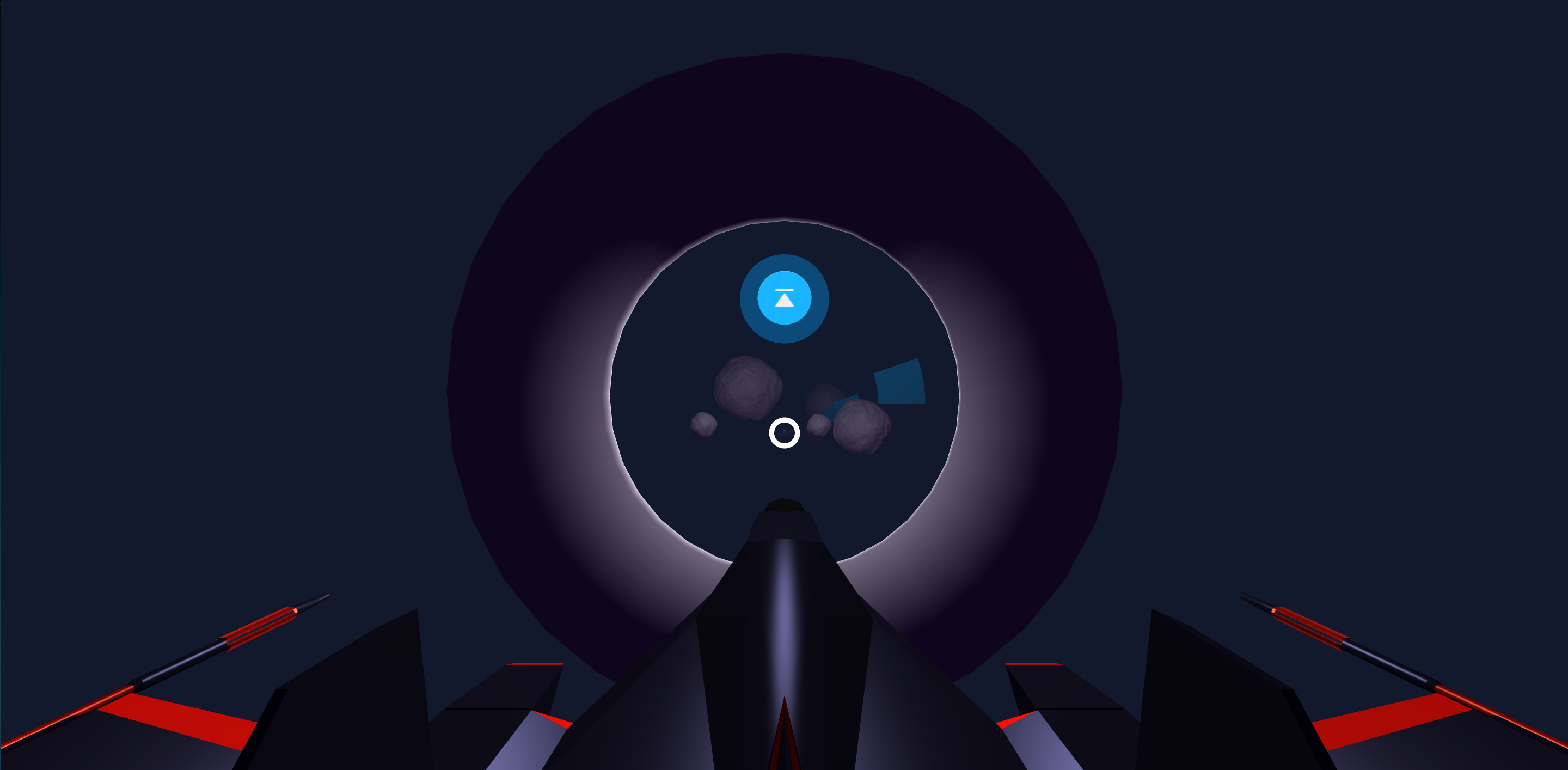 Ottifox - A-Frame - WebVR Space Craft Example